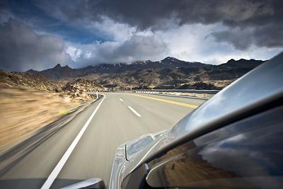 Driving Mt Ruapehu