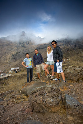 Ascending Mt Ruapehu