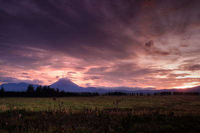 Mt Doom Sunrise Lord of the Rings