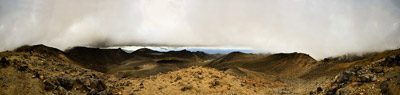 Mt Tongariro 360 degree Panorama